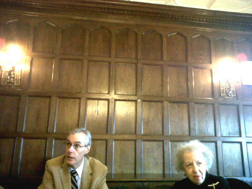 Sherwood Forest Panelling in Meeting Room @ Mill Neck Manor