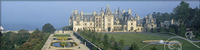 Biltmore Mansion - The largest private residence in the US
